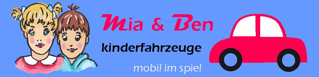 kinderfahrzeuge mia und ben