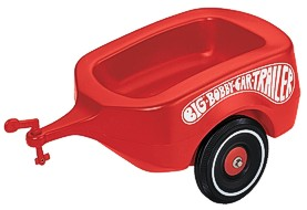 Bobby-Car roter Anhänger