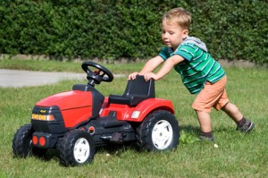 Roter Kindertraktor