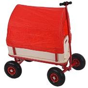 Bollerwagen Holz rot